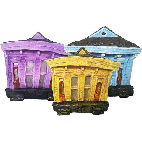 Tamar Taylor Small Double Shotgun House, Multiple Colors