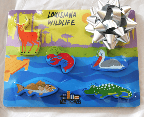 My Town Toy Company Louisiana Wildlife Puzzle