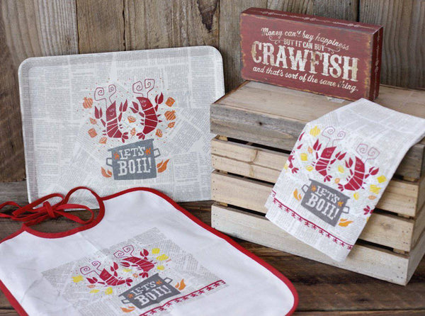 The Parish Line's Let's Boil Crawfish Set