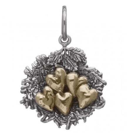 Waxing Poetic Bundled by Love Nest Charm - 5 Hearts