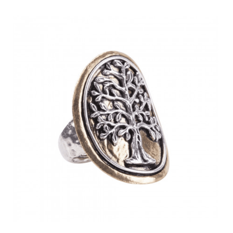 Waxing Poetic Tree of Life Ring