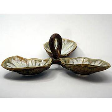 Alison Evans Oyster Series Condiment Dish with Handle
