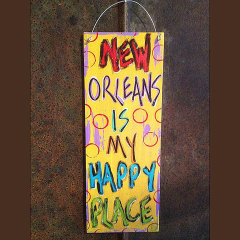 New Orleans is My Happy Place by Gabby Gumbo