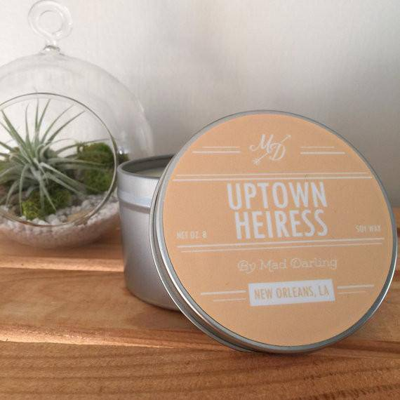 Mad Darling Uptown Heiress Candle Tin