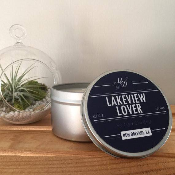 Mad Darling Lakeview Lover Candle Tin
