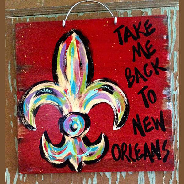 Take Me Back to New Orleans by Gabby Gumbo, Multiple Colors