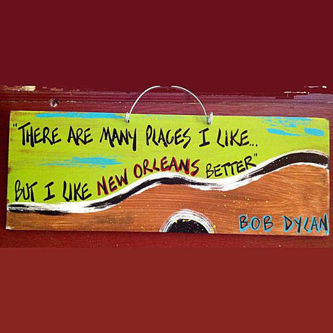 Gabby Gumbo Art - Bob Dylan There Are Many Places I Like