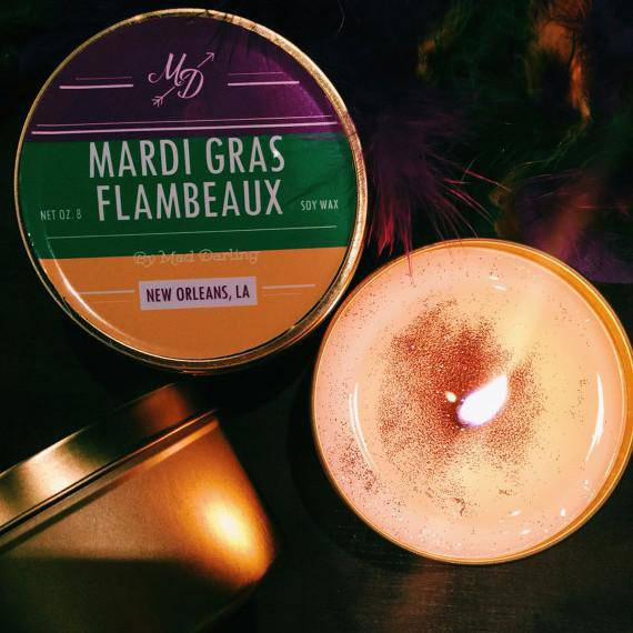 Mad Darling Flambeaux Candle Tin
