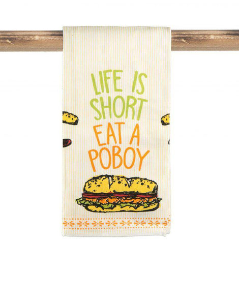 Po Boy Kitchen Towel