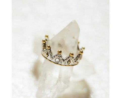 Waxing Poetic Tiara Stackable Ring - Minerva