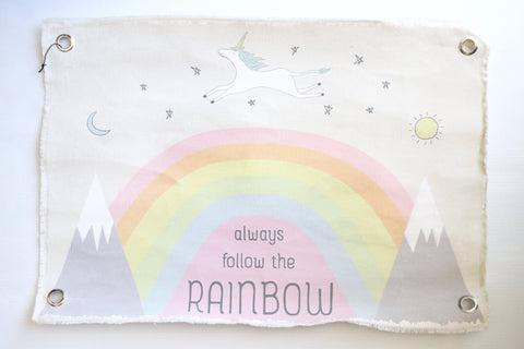 Always Folloow Your Rainbow - Wall Decor