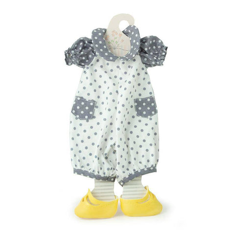 Bunnies By The Bay - Dotty Romper Set - Doll Clothes