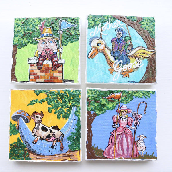 Storyland Canvas Art - Set of 4