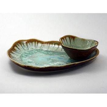 Alison Evans Oyster Series Plate, Small