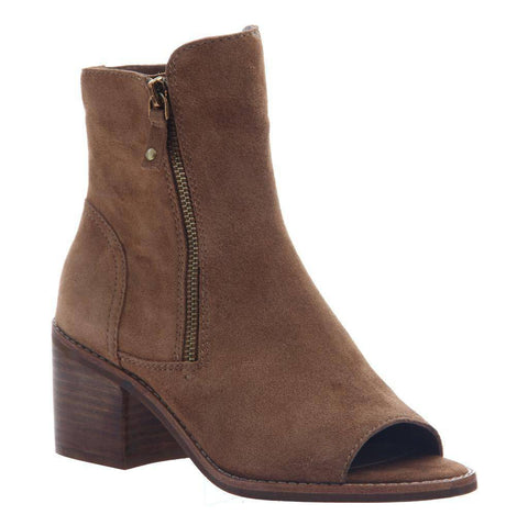 Nicole Nina Open Toe Bootie in Honey