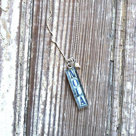 Heather Elizabeth NOLA Vertical Necklace