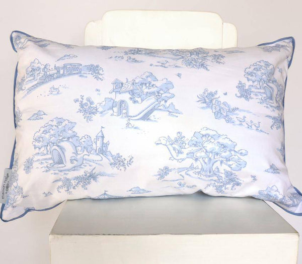 storyland toile decorative pillow little miss muffin. Black Bedroom Furniture Sets. Home Design Ideas