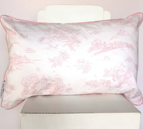 Storyland Toile Decorative Pillow