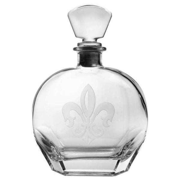 Rolf Glass Grand Fleur de Lis Decanter