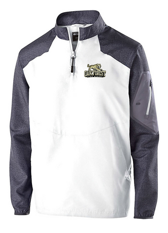 OAK FOREST HIGH SCHOOL FACULTY ASSOCIATION 2018 HOLLOWAY EMBROIDERED CARBON/WHITE RAIDER JACKET