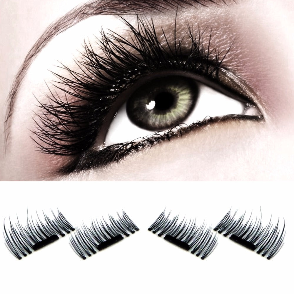 Amazing Magnetic 3D Eyelashes - Reusable