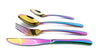 Iridescent Unicorn Rainbow Cutlery Set