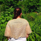 Annaliese Shawl Pattern - Knit