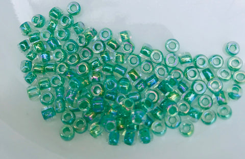 Emerald Seed Beads