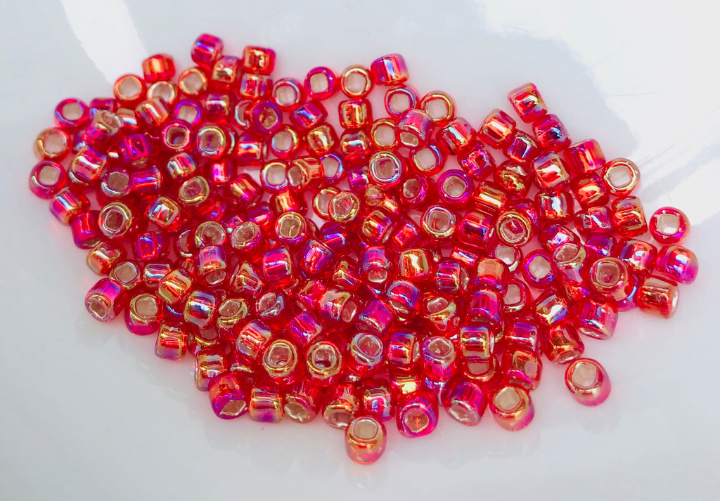 Ruby Seed Beads