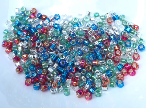 Precious Stones Mix Seed Beads