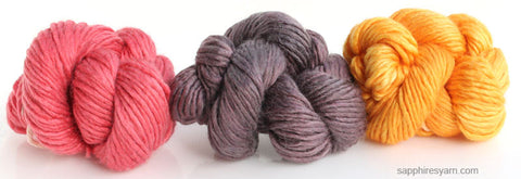 Crunchy Leaves Mini Pack - Silky Merino