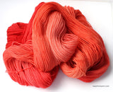 Flaming Coral - 3 Skeins Shimmer