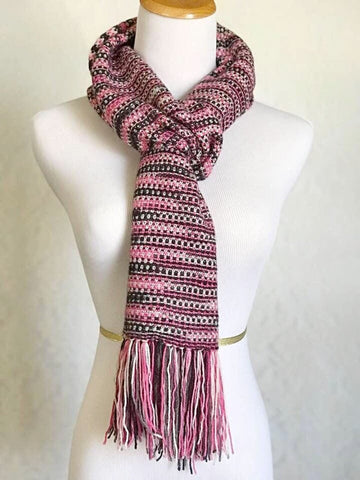 Patterns Kits Tagged Henley Scarf Pattern Knit Sapphires N