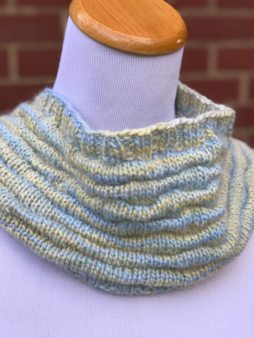 Slouchy Cowl Pattern - Knit