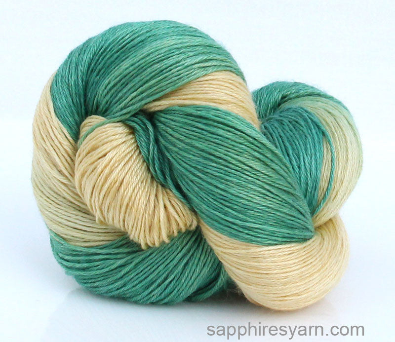 Lemon Lime - Creamy Wool