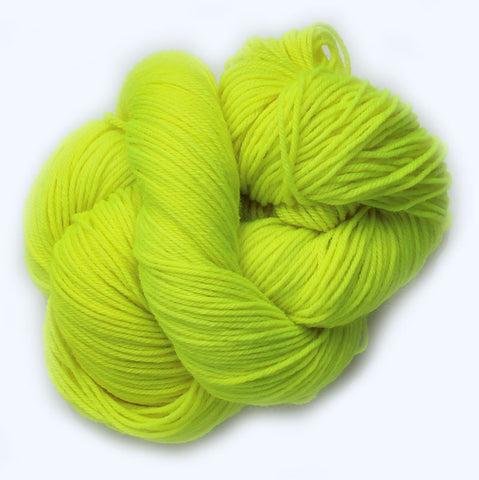 Luminous Lemon - Bouncy Sock Mini Skein