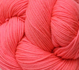 Outrageous Orange - Bouncy Sock Mini Skein