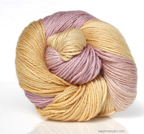 Peach Berry - 3 Skeins Creamy Cotton