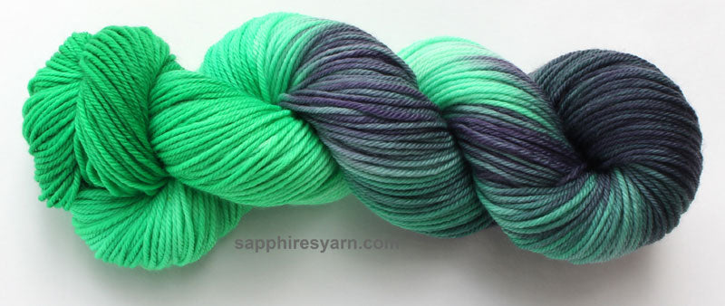 hand dyed merino wool yarn