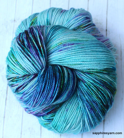 Speckled Peacock - Springy Sock