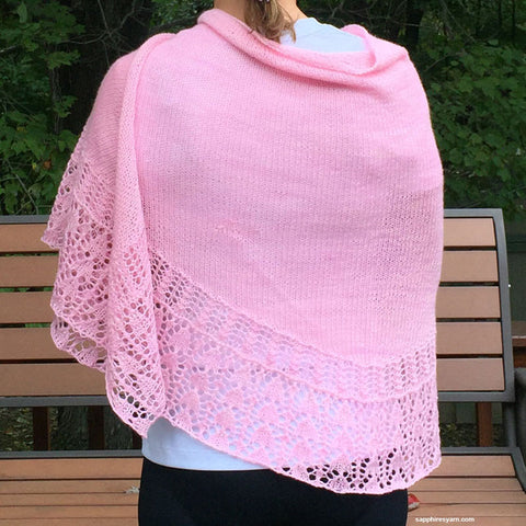 Tilbrook Shawl KIT - Knit