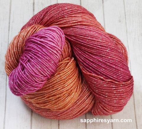 Tropical Taffy - 3 Skeins Glitz