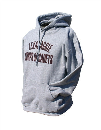 Grey Texas Aggie Corps of Cadets Hoodie