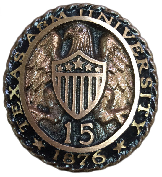 Aggie Ring Crest Paperweight
