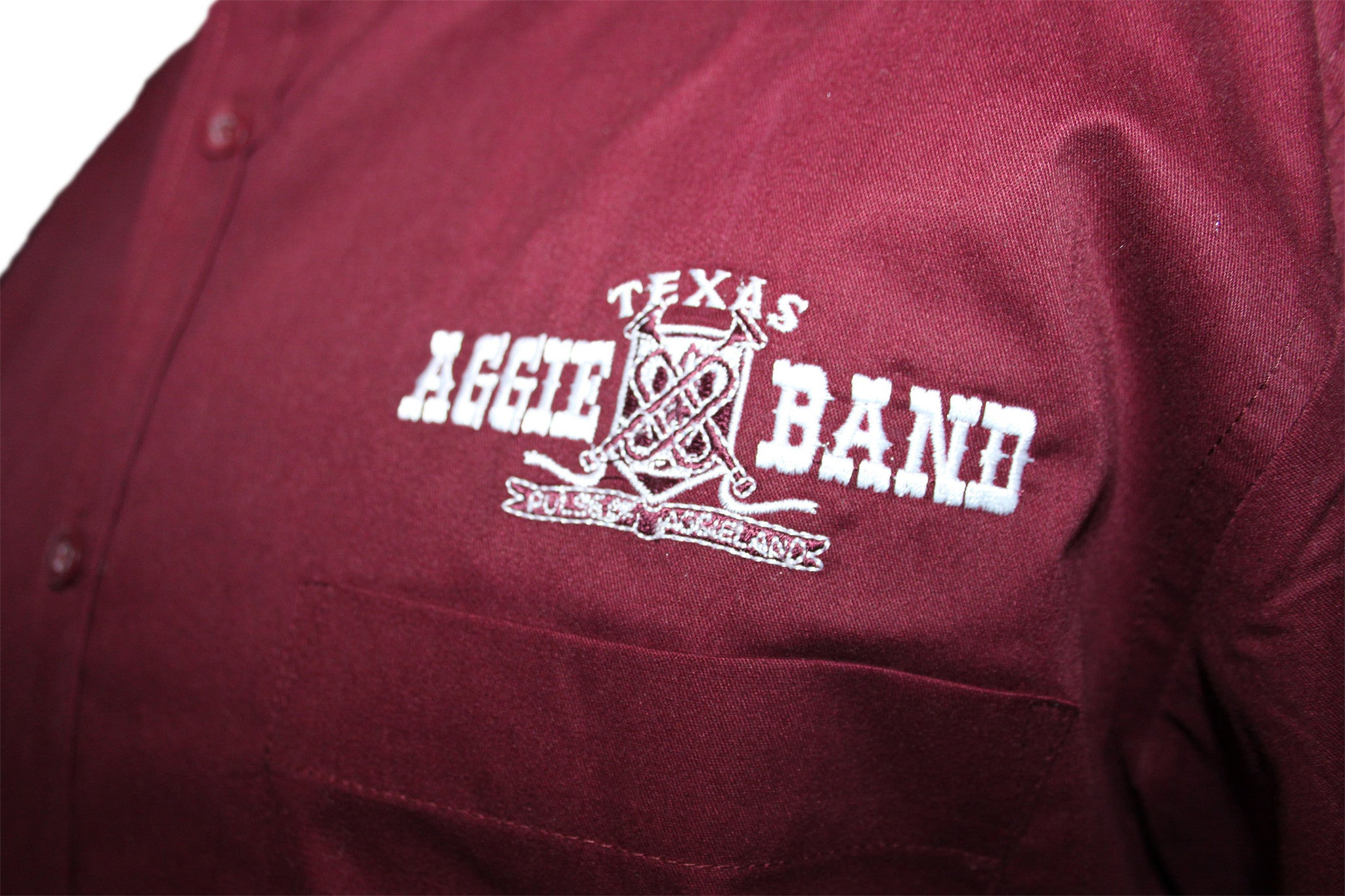 Aggie Band Mens Core 365 Long Sleeve Twill