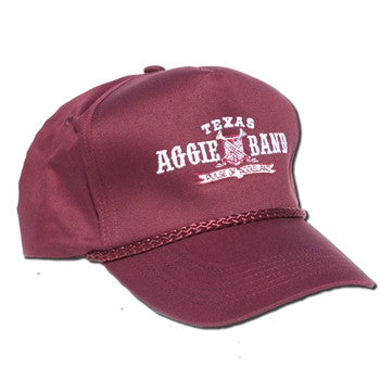 Aggie Band Five Panel Solid Back Hat