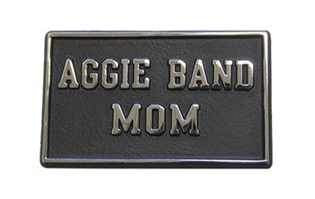 Aggie Band Mom Vehicle Emblem
