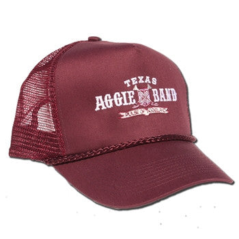 Aggie Band Five Panel Vent Back Hat
