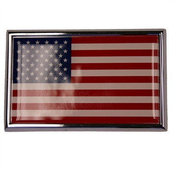American Flag Vehicle Emblem