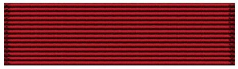 Best Drilled Cadet in the Unit Ribbon